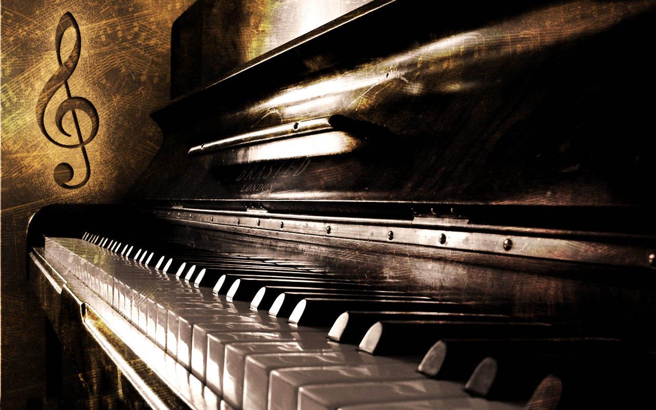 картинки на рабочий стол фортепиано низком